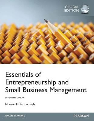 Essentials of Entrepreneurship and Small Business Management (BOK)