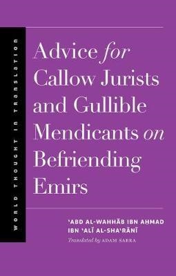 Advice for Callow Jurists and Gullible Mendicants on Befrien (BOK)