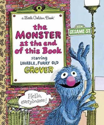 LGB The Monster At The End Of This Book (Sesame Book) (BOK)