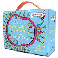 Little Blue Box of Bright and Early Board Books by Dr. Seuss (BOK)