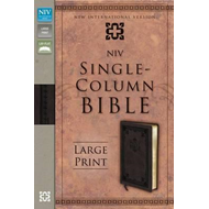 NIV Single-column Bible (BOK)