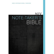 NIV Note Taker's Bible (BOK)