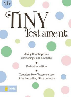 Tiny Testament Bible NIV (BOK)