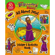 Beginner's Bible All About Jesus Sticker and Activity Book (BOK)