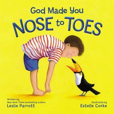 God Made You Nose to Toes (BOK)