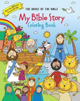 My Bible Story Coloring Book (BOK)