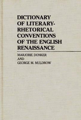 Dictionary of Literary-Rhetorical Conventions of the English (BOK)