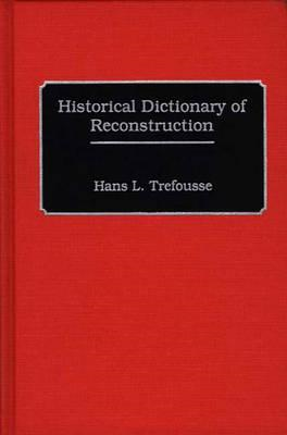 Historical Dictionary of Reconstruction (BOK)