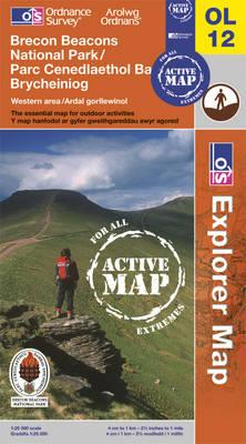 Brecon Beacons National Park - Western & Central Areas (BOK)