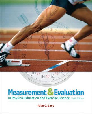 Measurement and Evaluation in Physical Education and Exercise Science (BOK)