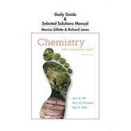 Study Guide and Selected Solutions Manual for Chemistry for Changing Times (BOK)