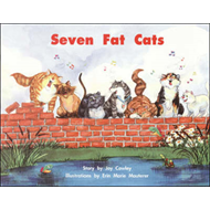 Story Basket, Seven Fat Cats, Big Book (BOK)