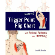 Mosby's Trigger Point Flip Chart with Referral Patterns and Stretching (BOK)