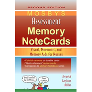 Mosby's Assessment Memory NoteCards (BOK)