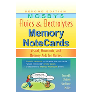 Mosby's Fluids & Electrolytes Memory NoteCards (BOK)