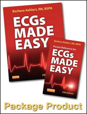 ECGs Made Easy - Book and Pocket Reference Package (BOK)