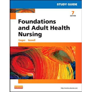 Study Guide for Foundations and Adult Health Nursing (BOK)