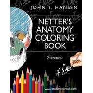 Netter's Anatomy Coloring Book (BOK)