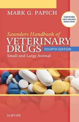 Saunders Handbook of Veterinary Drugs (BOK)