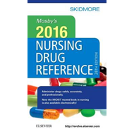 Mosby's 2016 Nursing Drug Reference (BOK)