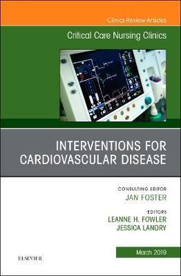Interventions for Cardiovascular Disease, an Issue of Critic (BOK)