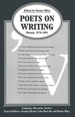 Poets on Writing: Britain, 1970-91 (BOK)