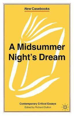 "A ""Midsummer Night's Dream"" (BOK)"