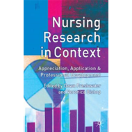 Nursing Research in Context (BOK)