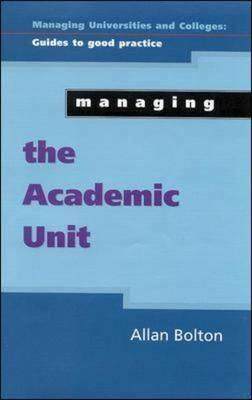 Managing the Academic Unit (BOK)