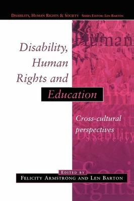 Disability, Human Rights and Education (BOK)