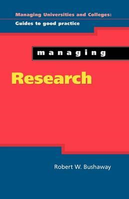 Managing Research (BOK)