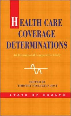 Health Care Coverage Determinations: An International Comparative Study (BOK)