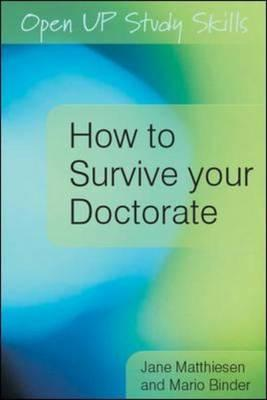 How to Survive Your Doctorate (BOK)