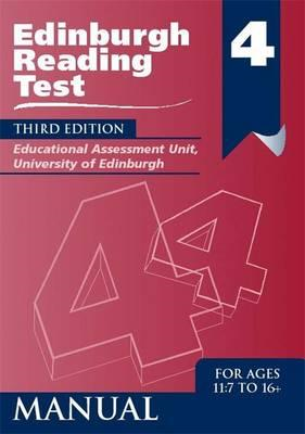 Edinburgh Reading Test (ERT) 4 Manual (BOK)