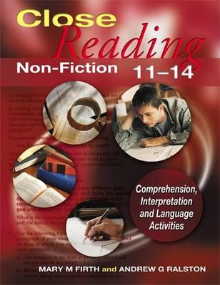 Close Reading Non-Fiction 11-14 (BOK)