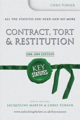 Contract, Tort and Restitution (BOK)