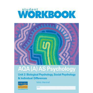 AQA (A) AS Psychology Unit 2: Biological Psychology, Social (BOK)