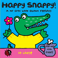 Mr Croc Board Book: Happy Snappy (BOK)