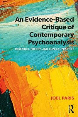 Evidence-Based Critique of Contemporary Psychoanalysis (BOK)