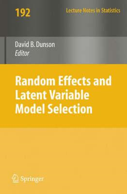 Random Effect and Latent Variable Model Selection (BOK)