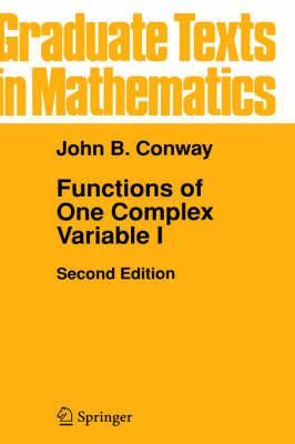 Functions of One Complex Variable I (BOK)