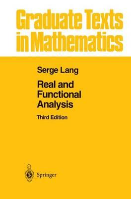 Real and Functional Analysis (BOK)