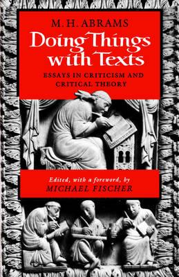 Doing Things with Texts (BOK)