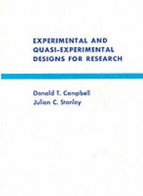 Experimental and Quasi-experimental Designs for Research (BOK)