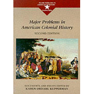 Major Problems in American Colonial History (BOK)
