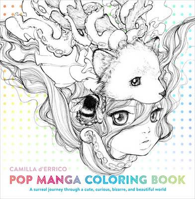 Pop Manga Coloring Book (BOK)
