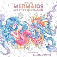 Pop Manga Mermaids and Other Sea Creatures (BOK)