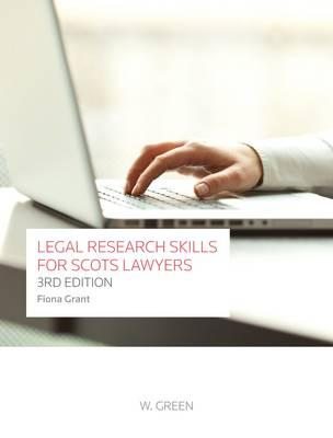 Legal Research Skills for Scots Lawyers (BOK)
