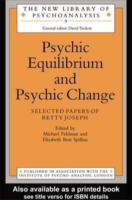 Psychic Equilibrium and Psychic Change (BOK)