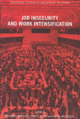 Job Insecurity and Work Intensification (BOK)